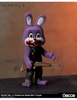 Silent Hill 3 Mini Action Figure Robbie the Rabbit Purple Version 10 cm
