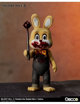 Silent Hill 3 Mini Action Figure Robbie the Rabbit Yellow Version 10 cm
