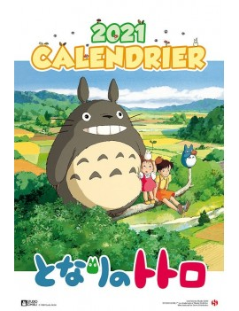My Neighbor Totoro Calendar 2021 *French Version*