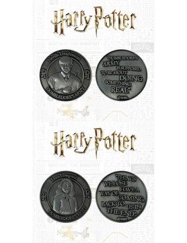 Harry Potter Collectable Coin 2-pack Dumbledore's Army: Neville & Luna Limited Edition