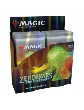 Magic the Gathering Zendikars Erneuerung Collector Booster Display (12) german