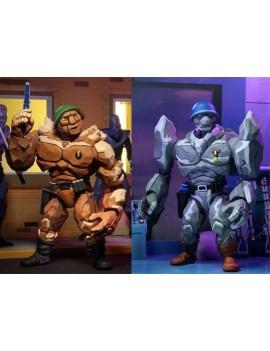 Teenage Mutant Ninja Turtles Action Figure 2-Pack Tragg & Grannitor 18 cm