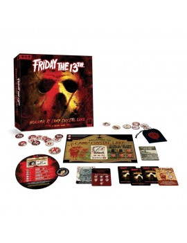 Friday the 13th Board Game Horror at Camp Crystal Lake *English Version*