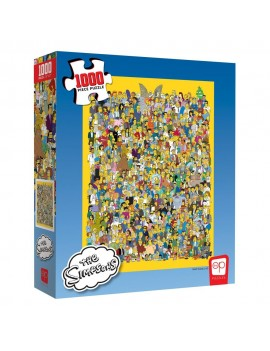 Simpsons Jigsaw Puzzle Cast of Thousands (1000 pieces)