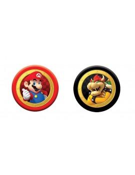 Super Mario Boardgame Checkers & Tic-Tac-Toe Mario vs. Bowser Collector's Game