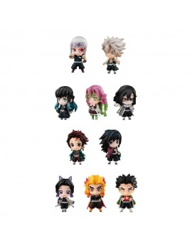 Demon Slayer: Kimetsu no Yaiba Trading Figure 1-Pack Sailor Tanjiro & The Hashira Mascot Set A & B 5