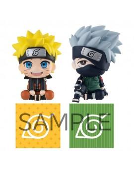Naruto Shippuden Look Up PVC Statues Naruto Uzumaki & Hatake Kakashi Limited Ver. 11 cm