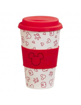 Disney Bamboo Lidded Mug Oh Boy