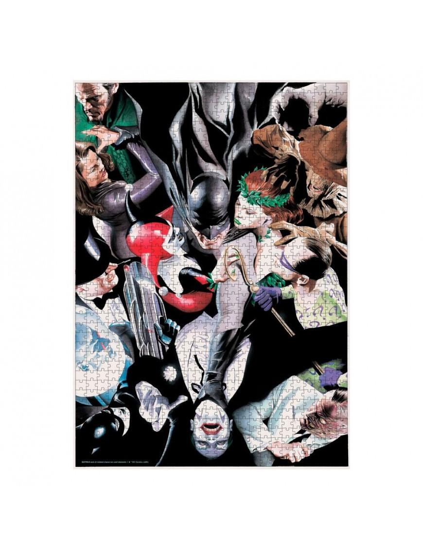 DC Comics Jigsaw Puzzle Batman Enemies