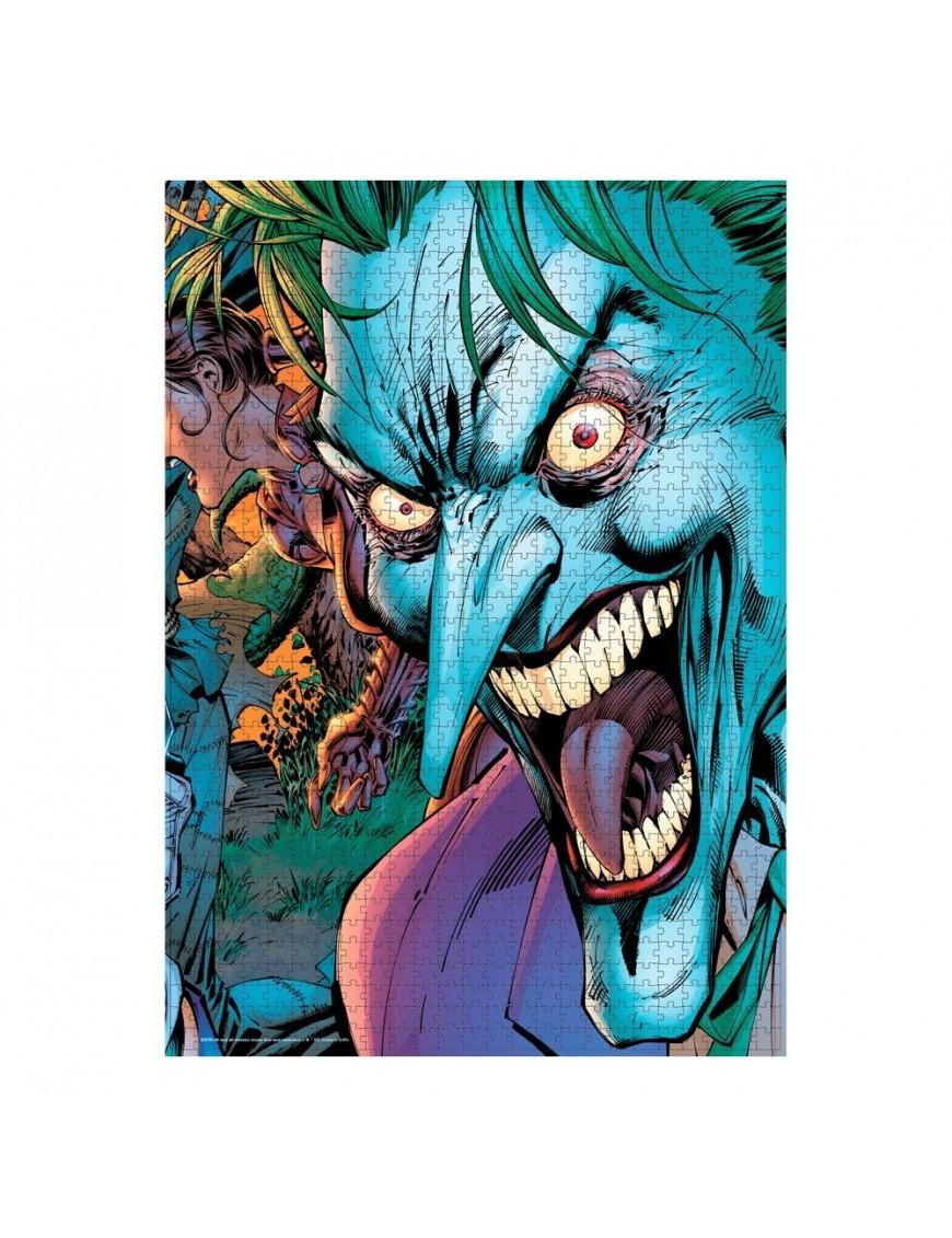 DC Comics Jigsaw Puzzle Joker Crazy Eyes