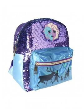 Frozen 2 Casual Fashion Sequin Backpack Elsa 21 x 26 x 10 cm