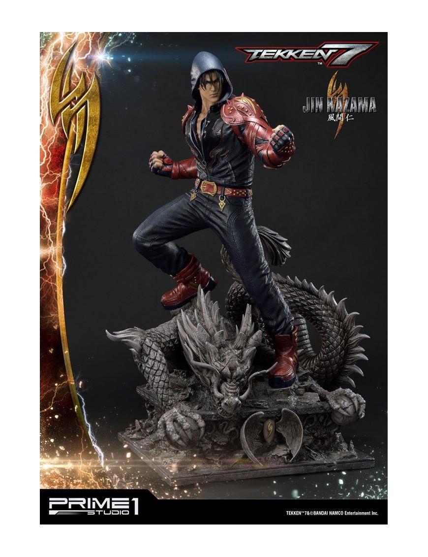 Tekken 7 Statue 1 4 Jin Kazama 65 Cm Mondo Action Figure
