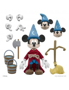 Disney Ultimates Action Figure Sorcerer's Apprentice Mickey Mouse 18 cm