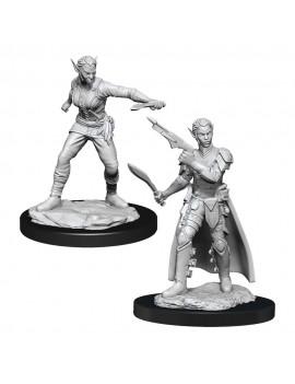 D&D Nolzur's Marvelous Miniatures Unpainted Miniatures Shifter Rogue Female Case (6)