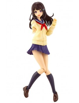 Sousai Shojo Teien Plastic Model Kit 1/10 Madoka Yuki Touou High School Winter Clothes 15 cm