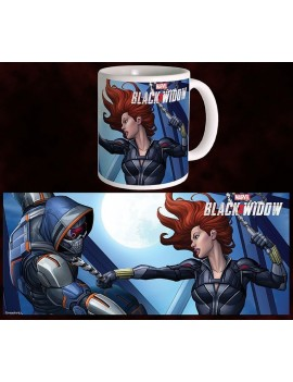 Black Widow Movie Mug BW vs TM