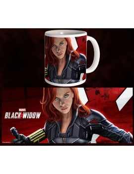 Black Widow Movie Mug Fight