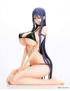 Magical Girl Mahou Shoujo PVC Statue 1/7 Misanee Black Bikini Ver. 17 cm