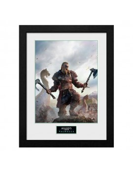 Assassins Creed Valhalla Collector Print Framed Poster Gold Edition