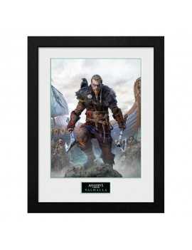 Assassins Creed Valhalla Collector Print Framed Poster Standard Edition