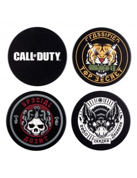 Call of Duty: Black Ops Cold War Coaster 4-Pack Badges
