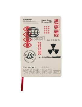 Call of Duty: Black Ops Cold War Notebook A5 Top Secret Documents