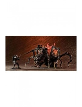 Dark Souls Game Piece Collection Plastic Model Kits Elite Knight & Chaos Witch Quelaag 4 - 9 cm