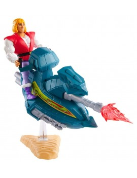 Masters of the Universe Origins Action Figure 2020 Prince Adam with Sky Sled 14 cm