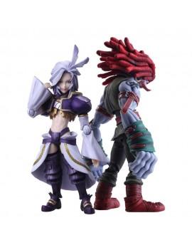 Final Fantasy IX Bring Arts Action Figures Kuja & Amarant Coral 16 - 18 cm