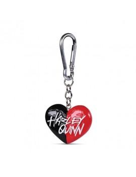 DC Comics 3D-Keychains Harley Quinn Heart 4 cm Case (10)