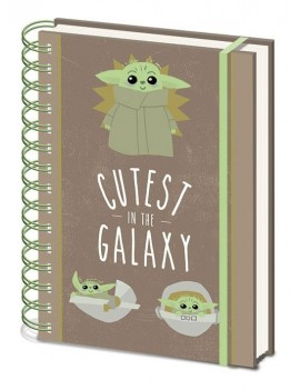 Star Wars The Mandalorian Wiro Notebook A5 Cutest In The Galaxy Case (10)