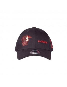 Black Widow Curved Bill Cap Logo