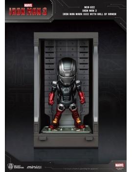 Iron Man 3 Mini Egg Attack Action Figure Hall of Armor Iron Man Mark XXII 8 cm