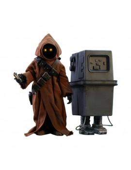 Star Wars Episode IV Movie Masterpiece Action Figure 2-Pack 1/6 Jawa & EG-6 Power Droid 18-21 cm