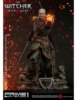 Witcher 3 Wild Hunt Statue 1/4 Geralt of Rivia Skellige Undvik Armor 58 cm