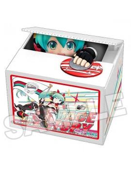 Hatsune Miku GT Project PVC Talking Coin Bank Racing Miku 2020 Ver. Chatting Bank 005 12 cm
