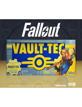 Fallout Metal Sign Vaul-Tec