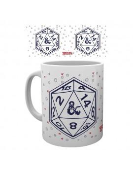 Dungeons & Dragons Mug D20