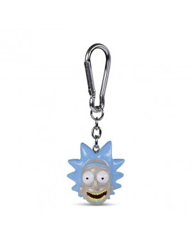 Rick and Morty 3D-Keychains Rick 4 cm Case (10)