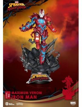 Marvel Comics D-Stage PVC Diorama Maximum Venom Iron Man 16 cm