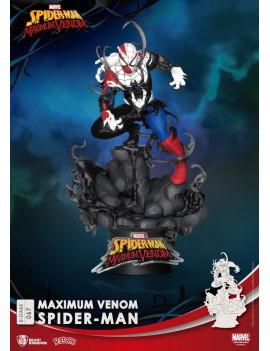 Marvel Comics D-Stage PVC Diorama Maximum Venom Spider-Man 16 cm