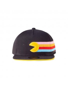 Pac-Man Snapback Cap Stripes