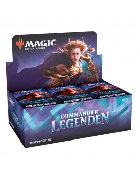 Magic the Gathering Commander Legenden Draft Booster Display (24) german