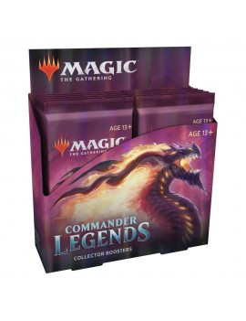 Magic the Gathering Commander Legends Collector Booster Display (12) english