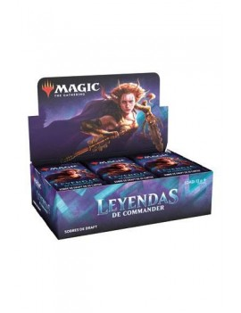 Magic the Gathering Commander Legends Draft Booster Display (24) portuguese