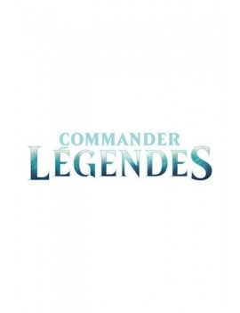 Magic the Gathering Commander Légendes Commander Decks Display (6) french