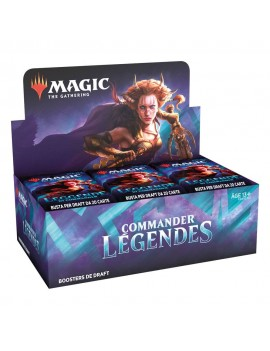 Magic the Gathering Commander Légendes Draft Booster Display (24) french