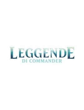 Magic the Gathering Leggende di Commander Commander Decks Display (6) italian