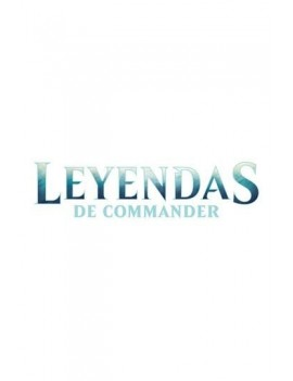 Magic the Gathering Leyendas de Commander Commander Decks Display (6) spanish