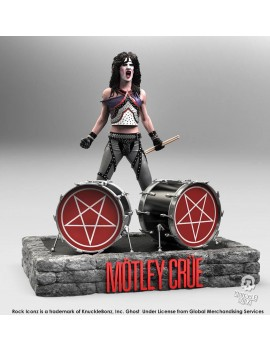 Mötley Crüe Rock Iconz Statue 1/9 Tommy Lee 22 cm